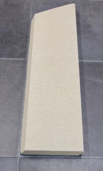 Oranier Fehmarn 7 Seitenstein rechts vorne Brennraumstein
