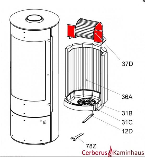 Olsberg Palena Compact Wirbelbrennkammer