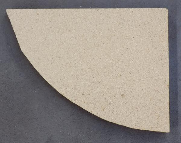 Oranier Vasa Vorderstein links C Vermiculite
